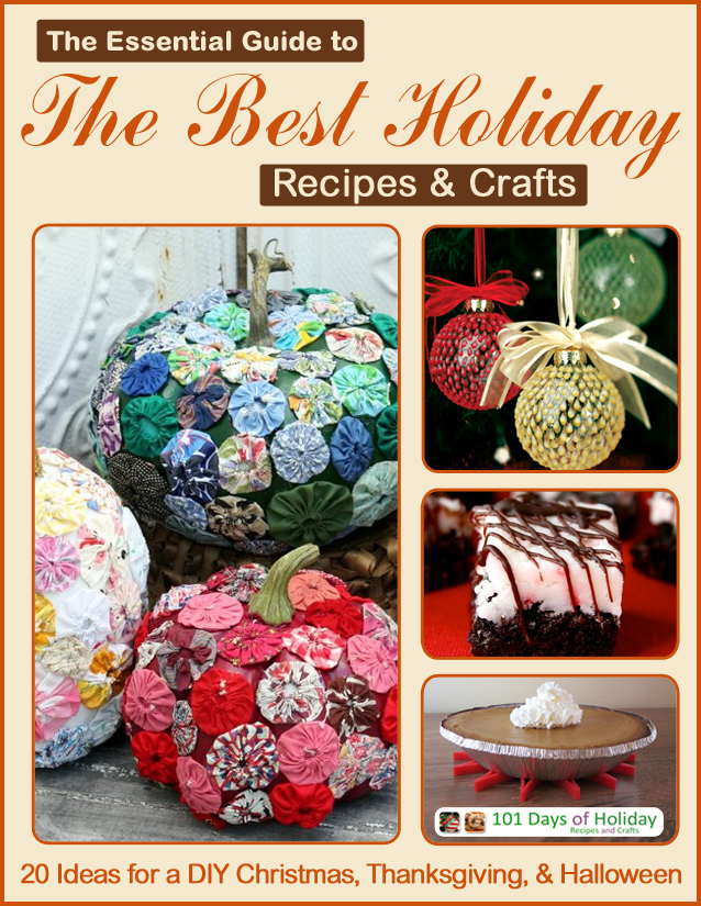 '101 Days of Holiday Recipes and Crafts' lanza un libro electrónico gratuito de vacaciones
