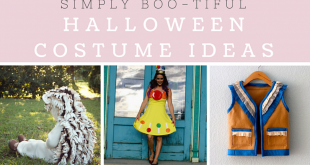 Simplemente Boo-tiful Ideas de disfraces de Halloween