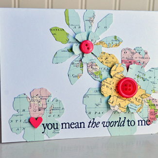 Map It Out: Paper Crafting with Maps
