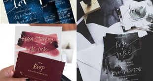 8 + 1 Wedding Stationery Trends 2016