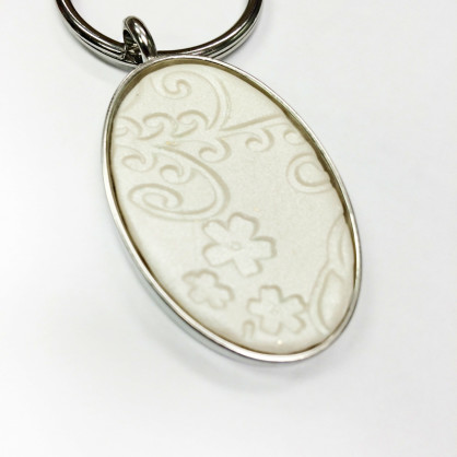 Spring Pearl Clay Keyfob Tutorial + ¡Nuestro Make n 'Take con Polyform!