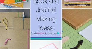 In a Bind: 12 DIY Book and Journal Making Ideas