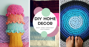 DIY Home Decor: Patrones de punto y ganchillo