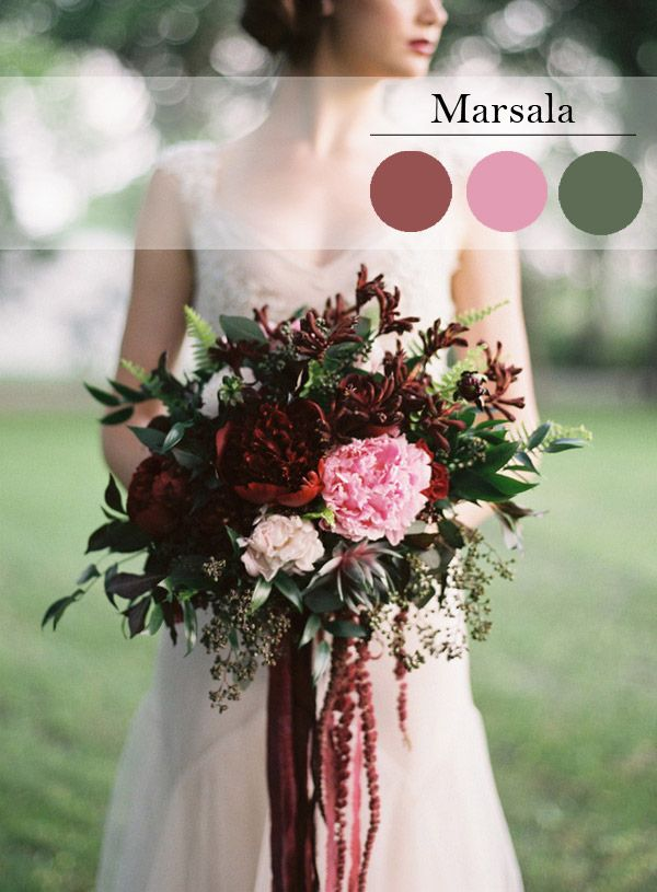 El color del año 2015 de Pantone: Marvelous in Marsala