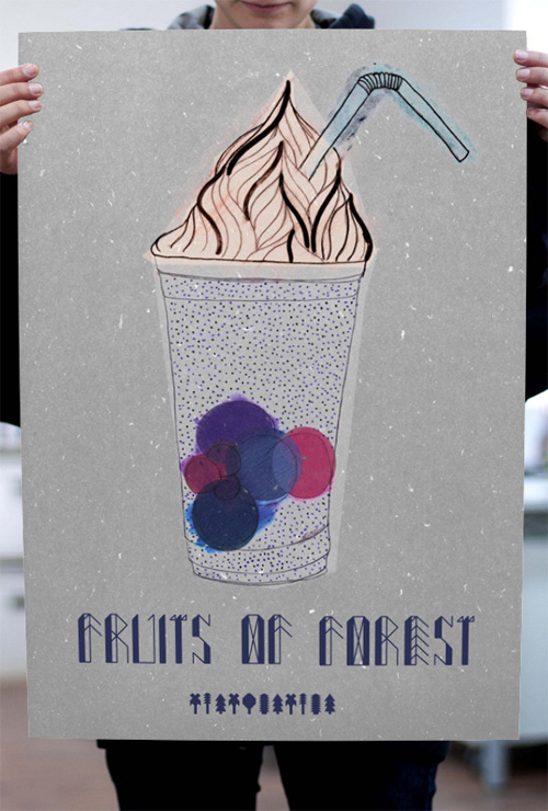 TypoThursday × Fruits of Forest Fuentes